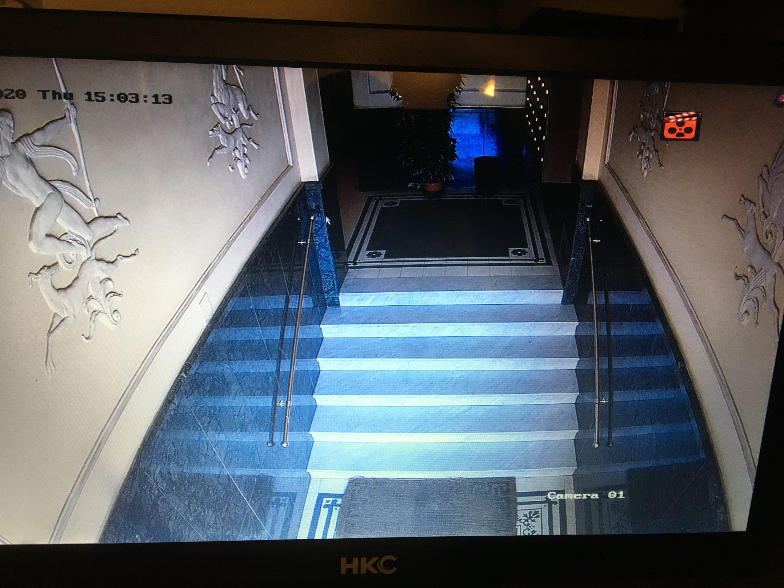 TVCC condominio Roma
